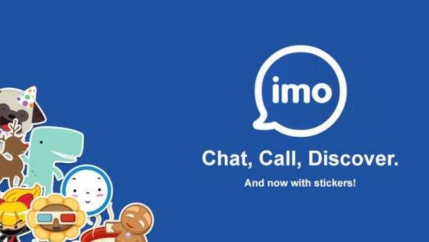 برنامه ایمو مسنجر برای اندروید imo messenger