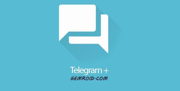دانلود برنامه مسنجر تلگرام پلاس اندروید Telegram+ 4.2.1.1