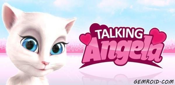 بازی دخترانه صحبت با آنجلا اندروید My Talking Angela