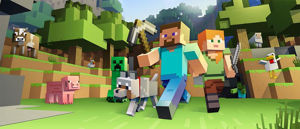 دانلود بازی ماین کرفت اندروید Minecraft - Pocket Edition 1.2.0.31