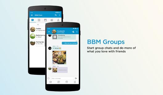 دانلود مسنجر بلک بری برای اندروید BBM - Free Calls & Messages 3.3.8.71