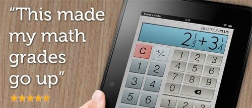 دانلود ماشین حساب مهندسی اندروید Fraction Calculator Plus 4.2.0
