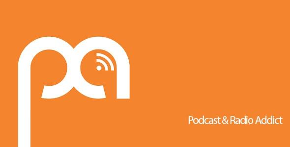 دانلود بهترین برنامه پخش پادکست اندروید Podcast & Radio Addict 3.46