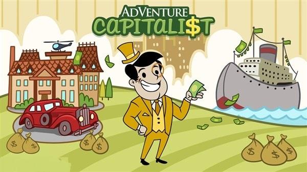 دانلود بازی شبیه سازی سرمایه دار ماجراجو اندروید AdVenture Capitalist 5.4.1