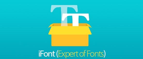 آی فونت برنامه تغییر فونت برای اندروید iFont