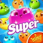 دانلود بازی چیدن میوه های هم شکل در کنار هم اندروید Farm Heroes Super Saga 1.19.15