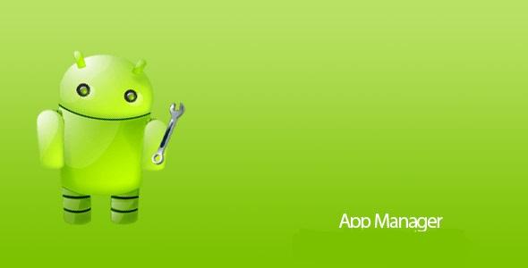 برنامه مدیریت برنامه های اندروید App Manager