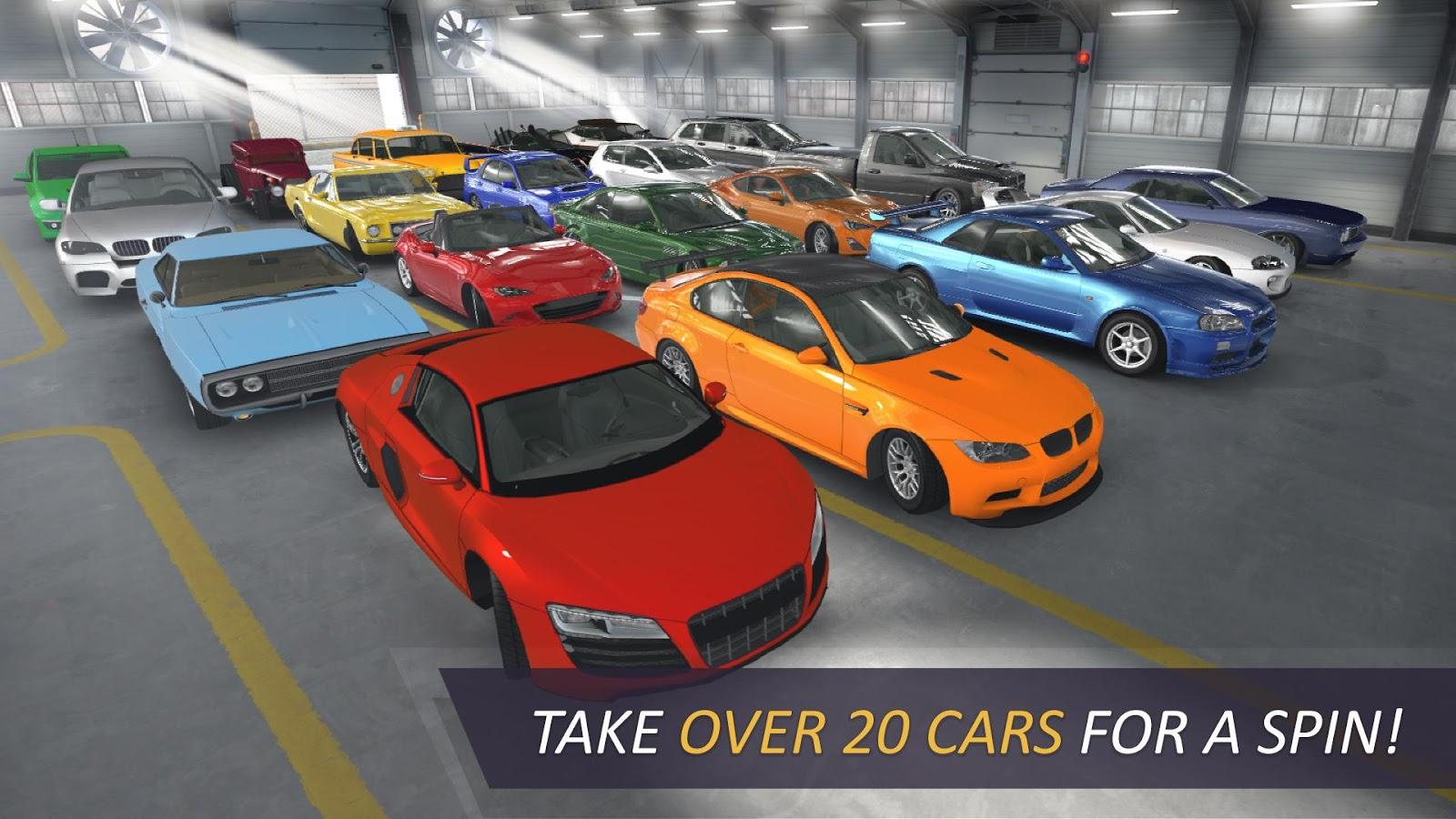 دانلود بازی اتومبیلرانی مسابقات در بزرگراه اندروید CarX Highway Racing 1.52.1