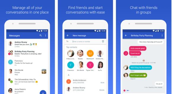 دانلود برنامه گوگل مسنجر برای اندروید Android Messages 2.5.212