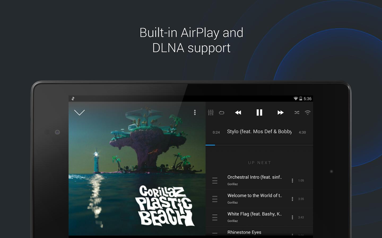دانلود برنامه پخش کننده موزیک برای اندروید doubleTwist Music Player Sync Pro 3.0.8