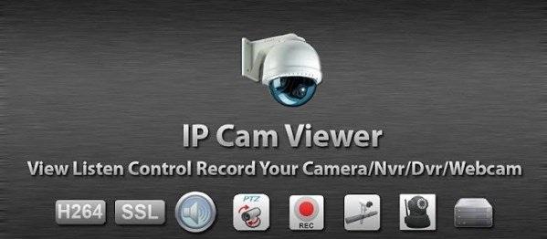 برنامه کنترل دوربین مدار بسته اندروید IP Cam Viewer Pro