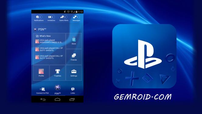 برنامه رسمی پلی استیشن اندروید PlayStation® App