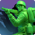 دانلود بازی استراتژیک اعتیاد آور اندروید Army Men Strike 2.96.0