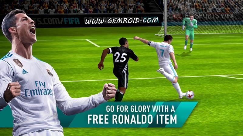 بازی فوتبال فیفا موبایل اندروید FIFA Mobile Soccer 2018