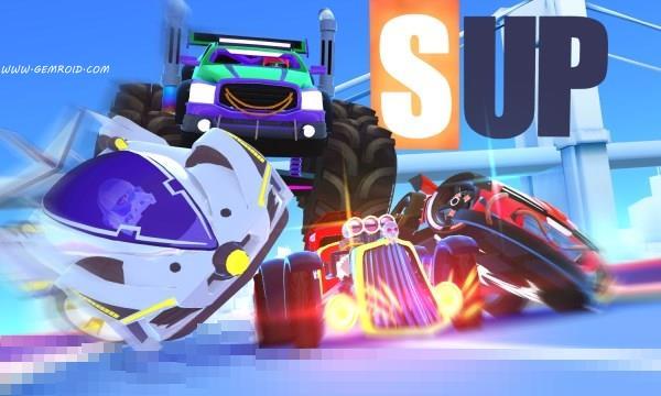 بازی ماشین سواری مولتی پلیر اندروید SUP Multiplayer Racing