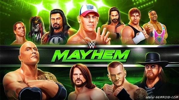 بازی کشتی کج 2018 اندروید WWE Mayhem