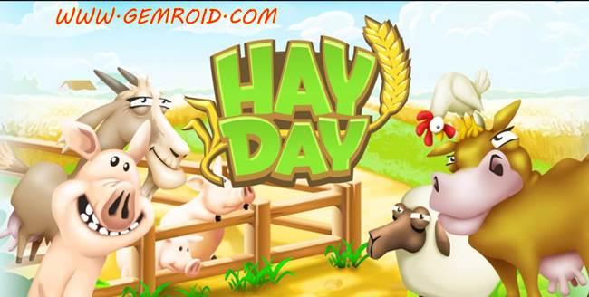بازی اندروید هی دی مزرعه داری و کشاورزی پرطرفدار Hay Day