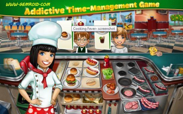 بازی آشپزی جدید رایگان اندروید Cooking Fever