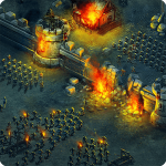بازی استراتژیک یورش تاج و تخت اندروید Throne Rush