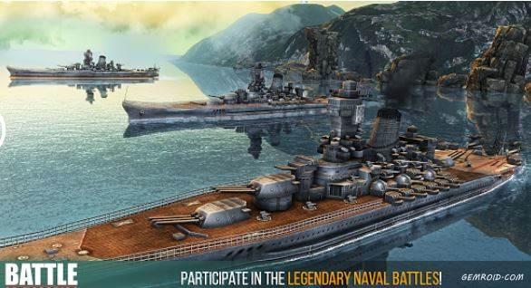 بازی نبرد رزم کشتی های جنگی اندروید Battle of Warships
