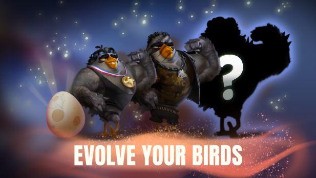 بازی تکامل پرندگان خشمگین اندروید Angry Birds Evolution