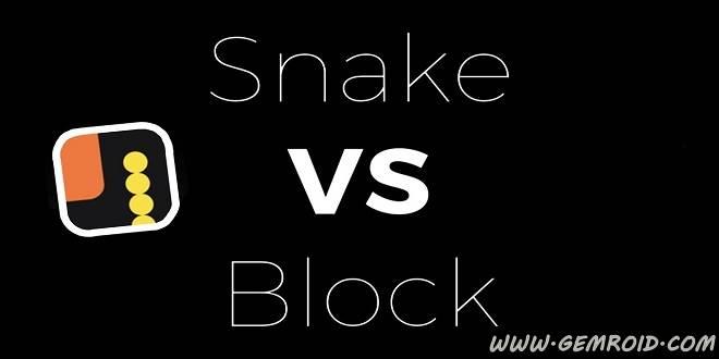 بازی مار و موانع برای اندروید Snake VS Block