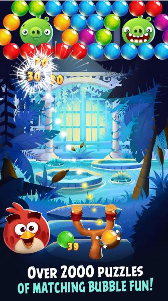 بازی انگری بیردز استلا پاپ اندروید Angry Birds POP Bubble Shooter