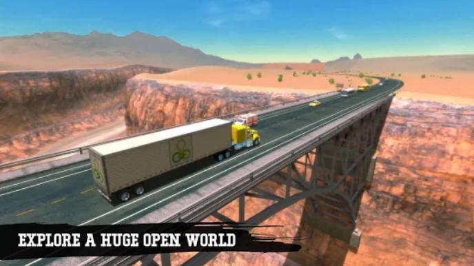 بازی شبیه ساز کامیون اندرویدی Truck Simulation
