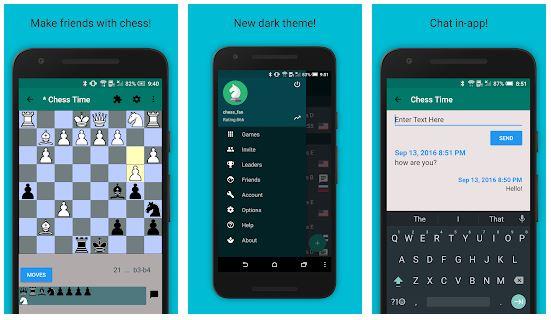 بازی شطرنج آنلاین برای اندروید Chess Time® Pro - Multiplayer