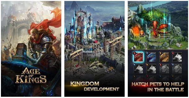 بازی عصر پادشاهان برای اندروید Age of Kings