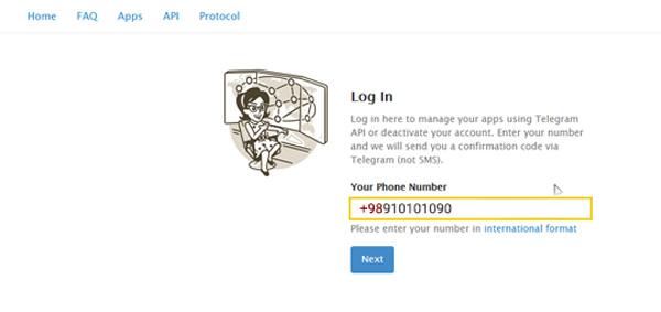 آموزش حذف اکانت تلگرام _ دیلیت کردن حساب Telegram