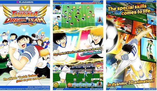 بازی کاپیتان سوباسا برای اندروید Captain Tsubasa: Dream Team