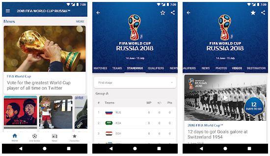 برنامه رسمی فیفا برای جام جهانی FIFA World Cup Russia