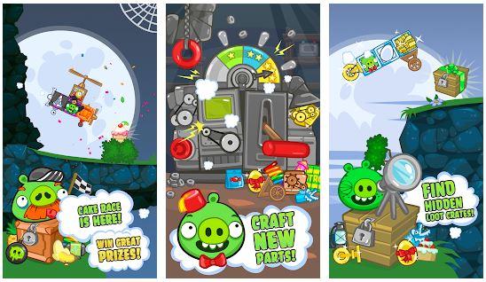 بازی خوک های بد برای اندروید Bad Piggies HD
