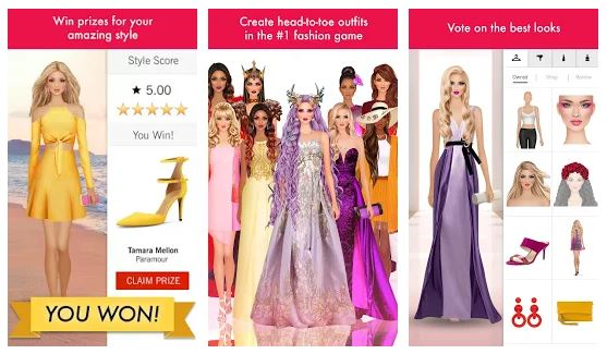 بازی دخترانه برای اندروید Covet Fashion