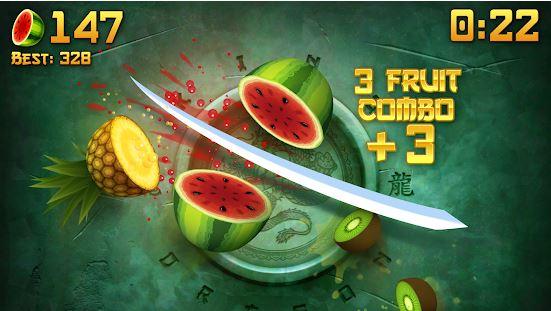 بازی نینجا میوه اندروید Fruit Ninja