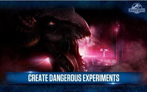 بازی دنیای ژوراسیک اندروید Jurassic World™: The Game