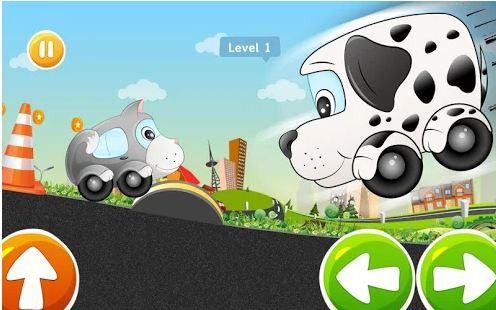 بازی ماشین کودکانه اندروید Kids Car Racing game