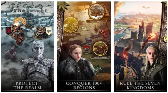 بازی تاج و تخت برای اندروید Game of Thrones: Conquest