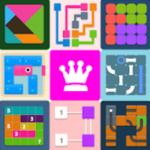 دانلود مجموعه بازیهای پازلی اندروید Puzzledom – classic puzzles all in one 7.4.84