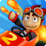 بازی مسابقه ای باگی در ساحل ۲ برای اندروید Beach Buggy Racing 2