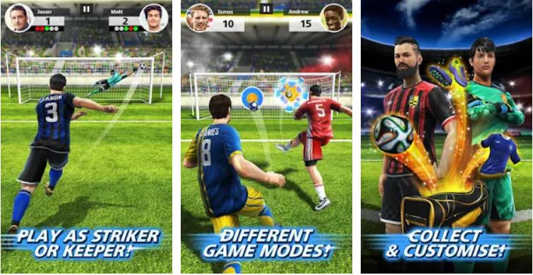 بازی ضربات آزاد فوتبال اندروید Football Strike – Multiplayer Soccer