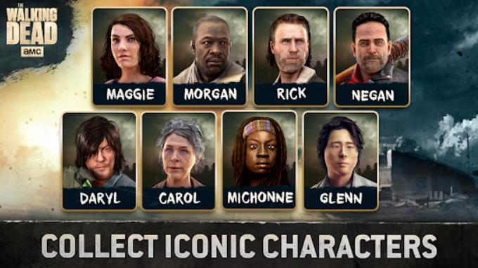 بازی اندروید مردگان متحرک The Walking Dead